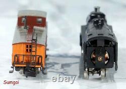 Märklin Deluxe Southern Pacific Train Starter Set Track, Contrôleur, Bâtiments