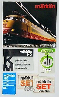 Marklin Ho Model Railway Starter Train Voie Supplémentaire Ensemble 2920 5191 5113