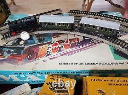 Marklin Ho Train Set Original Box C1960s Boxed Track, Points, Manuels De Travail