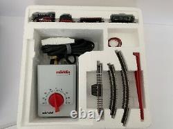 Marklin Mini Club Set 81565 Train Avec Transformateur De Voie Dans La Boîte Z Échelle