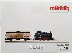 Marklin Z 81701 Set De Démarrage Avec La Piste Ovale Du Train De Marchandises Set (testé) Lnib