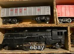 Marx Sears Allstate Electric Train Set #9734 Complet Avec La Jauge Originale Box O