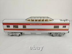 Mth Rail King Santa Fe F3 Train De Voyageurs Réglé 30-4021-1 Avec Voie Supplémentaire C-7+