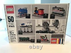 Nisb Lego 50 Ans Sur La Bonne Voie Exclusive Des Employés 2016 Cadeau De Noël Train 4002016