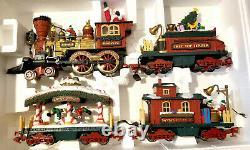 No Track New Bright Holiday Express Train Set No. #384 Trains, Electronique, Boîte
