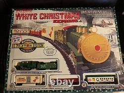 Nouveau Bachman Blanc De Noël Express Ho Scale E-z Track Holiday Train Set