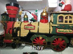 Nouveau Bright 384 Holiday Express Train De Noël Set G Scale Witho Tracks Untested
