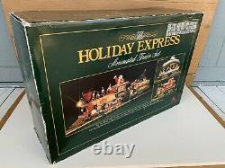 Nouveau Bright Holiday Express Animé Train À Télécommande Ensemble Noël Santa