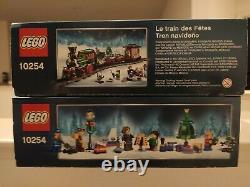 Nouveau Lego Creator Winter Holiday Train 10254 Expert Christmas Engine Track Rare