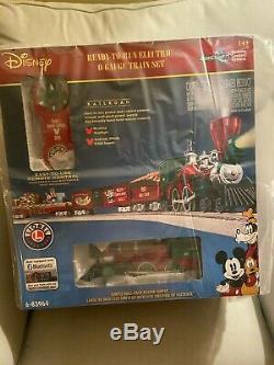 Nouveau! Lionel Disney De Noël À Ne Pas Oublier O Gauge Train Bonus Track 6-83964