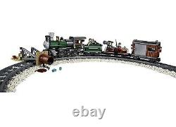 Nouveau Lone Ranger Lego 79111 Constitution Train Chase Steam Locomotive Track