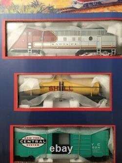 Nouveau Modèle Power Metal Ho Train 800 Explorer Locomotive Tank Car Piste