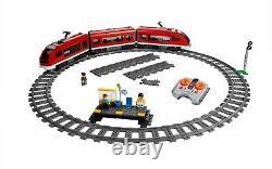 Nouveau Train De Passagers Lego City 7938 Remote Control Train Tracks Plis Sur Box