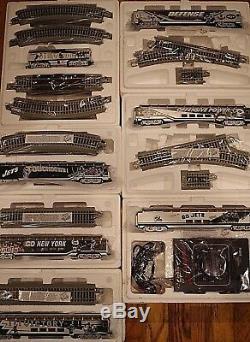 Nouveaux York Jets 7 Pc Set Bachmann Hawthorne Village Train Tracks Contrôle Sib