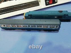 Oo Hornby R686 Ensemble De Trains Intervilles Classe 37 Loco + 4 Entraîneurs, Ovale De Voie