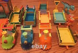 Pbs Dinosaur Train Set Automobilized Train Trails Figures