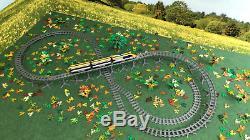 Piliers Trixbrix Bundle Avec R56 Tracks Galbés, Imprimé 3d Train De Lego Compatible