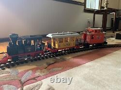 Playmobil Petit Ensemble De Train Occidental 3958 Plus Une Mise À Niveau Supplémentaire De Piste Et De Transformateur
