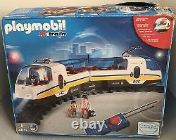 Playmobil Rc Boxed Train 4011 Working Full Set Track New Battery Pack Pas 100%
