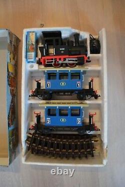 Playmobil Train Réglé Avec Xtr Pistes Et Chariots 4000 4100 4354 4356 4357