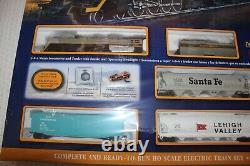 Sbachmann #00614 Overland Limited Ho Train Set Avec Voie E-z Dcc, Nib