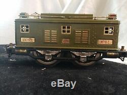 Standard Lionel Avant-guerre Passager Set W Box 4 Trains 13 Pisces De Piste 8e 337 338