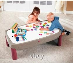 Step2 Deluxe Canyon Road Train & Track Table Avec L'ensemble Train Play Toddlers Nouveau