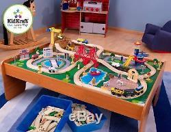 Table En Bois Set De Jouets Thomas Le Train Brio Compatible Enfants Petit Voie Ferrée