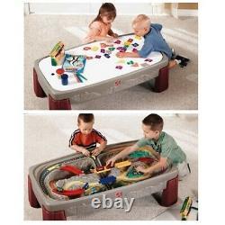 Table Pour Enfant Train Piste Paramétrez Enfants Activity Centre Artisanat Tout-petit Jeu Art Bureau