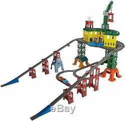 Thomas & Friends Station Super Train Piste Kids Set Toy Playset Railway Nouveau