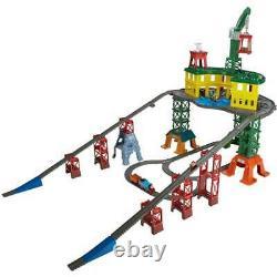 Thomas & Friends Super Station Train Track Set Kids Toy Playset Railway Nouveau