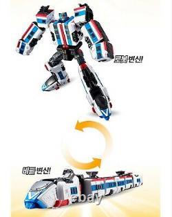 Tobot V 6-intégration Master-v, Driller, Train, Stealth Transformer Robots Ensemble Complet