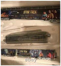 Tos Star Trek Ho Train Ensemble, Locomotive, 18 Voitures, Voie, Commandes, Transporteur De Navire