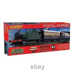 Tout Nouveau Hornby R1180 Postal Train Express Gauge Train Set R8206 Power Track