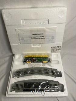 Tout Nouveau Village Hawthorne John Deere Train Locomotive À Vapeur Set Track Complete