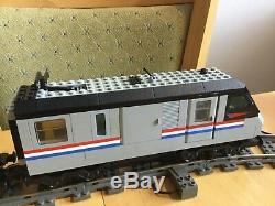 Train Lego Train 4558 Metroliner De Jeu, Avec La Piste Et L'alimentation Utilisée