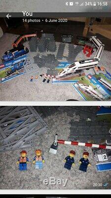 Train Urbain Lego + Piste + Tram + Chiffres Bundle Theres Plus De £ 100 En Cours