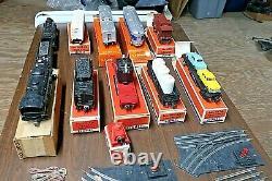 Train Vintage Lionel Set Avecaccessoires/track/transformers/boques Originales