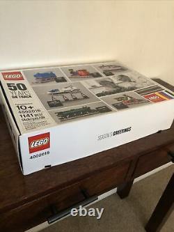 Trains Lego 4002016. 50 Ans Sur La Bonne Voie Flambant Neuf Dans Sealed Box Special Edition