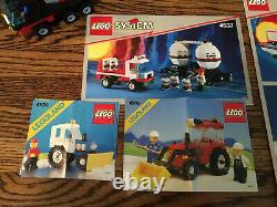 Two Vintage Lego Train Sets 4565 4563 Tracteurs De Voies Supplémentaires