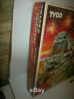 Tyco Transformateurs De Train Et Ensemble De Combat Slot Car Piste Vintage Arcofalc