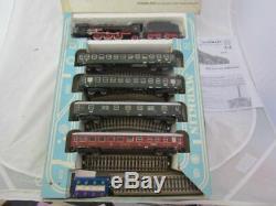 Vers 1966 Marklin Ho 3148 Train Express Set Piste Moteur-voitures En Ordre De Marche