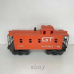 Vintage 1970 Lionel Modèle Train Ensemble 8042 Die-cast Grand Trunk Western Testé