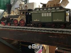 Vintage Beam 7pc Train Jim Set Carafes, (6) Piste, J. B. Turner Loco. Très Htf
