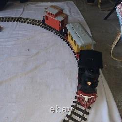 Vintage Geobra Playmobil 3958 Train Set Colorado Railroad Tracks With Box Testé