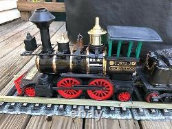 Vintage Jim Beam Decanter Train Set Avec Des Pistes Euc