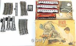Vintage Large Set Ho Piko M61 001 Diesel Locomotive Train 3 Coach 42 Voies