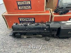 Vintage Lionel 1110 Train 5 -1953 Avec Des Boîtes Et La Piste Originale