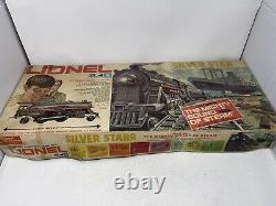 Vintage Lionel Silver Star No. 6-1183, 027 Jeu De Train Électrique De Jauge Avec Boîte Tested