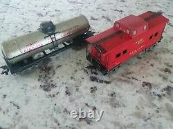 Vintage Marx Train Set #25000 Original Box, Steam Engine, Pfe, Track, Transformer